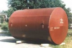 Horizontal steel cylindrical tanks for petroleum products storage, with the capacity of 3 up to 100 m3 (surface and subsurface design).